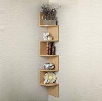 Large Corner Wall Mount Shelf  Home Decor