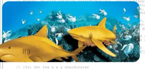 Animación de tiburones en JavaFX
