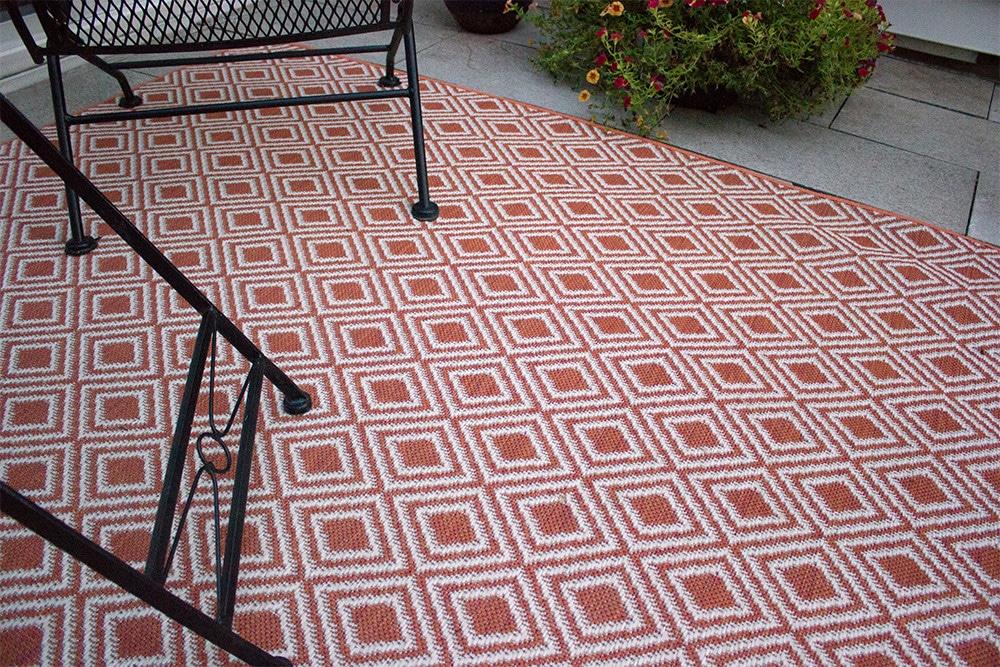 Lanai Custom Cut Economy Indoor Outdoor Area Rug Collection