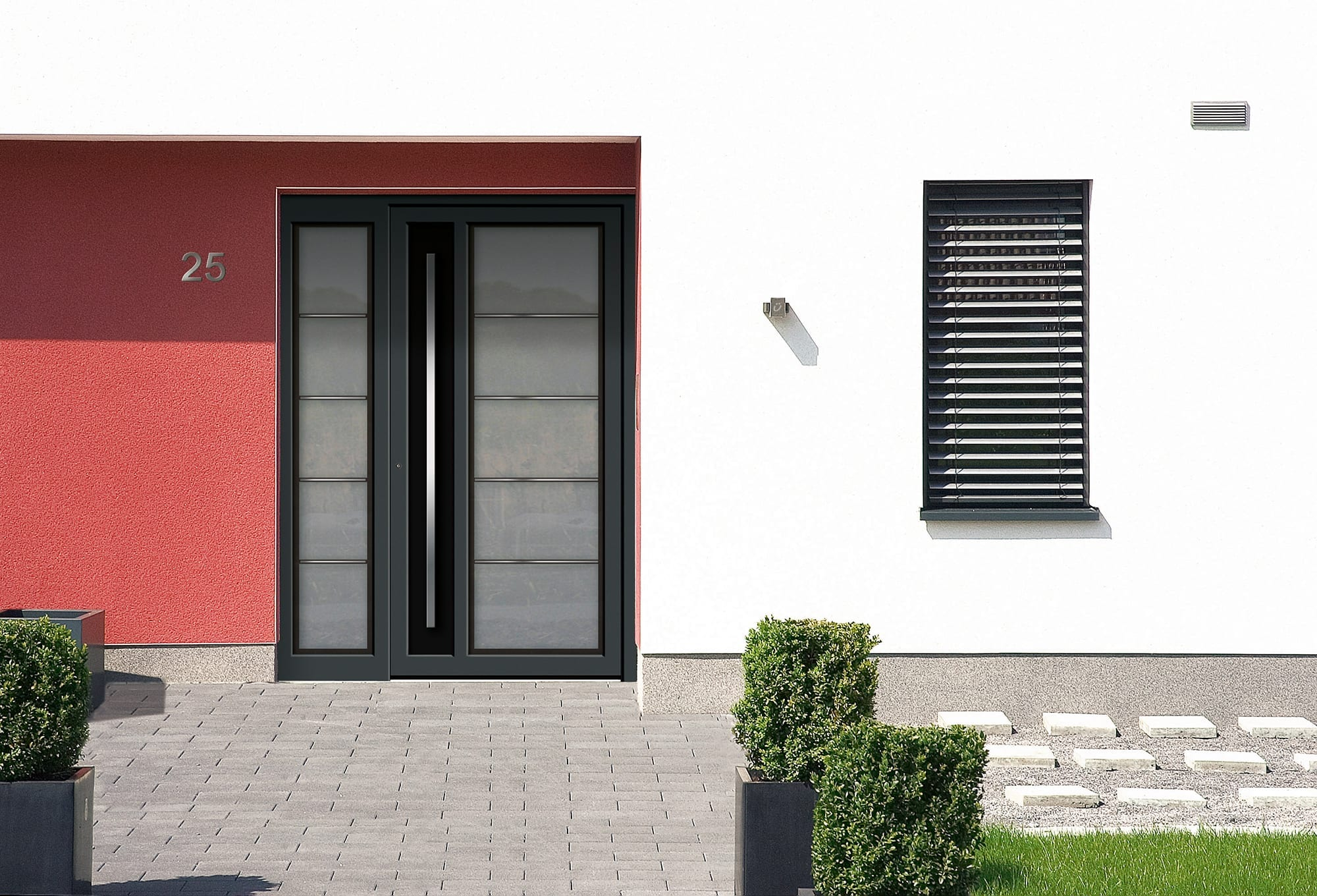 Side By Side Schmal Residential Doors KÖmmerling