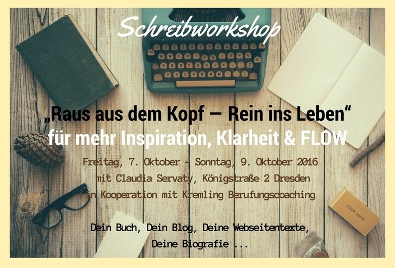 Schreib-Workshop Dresden