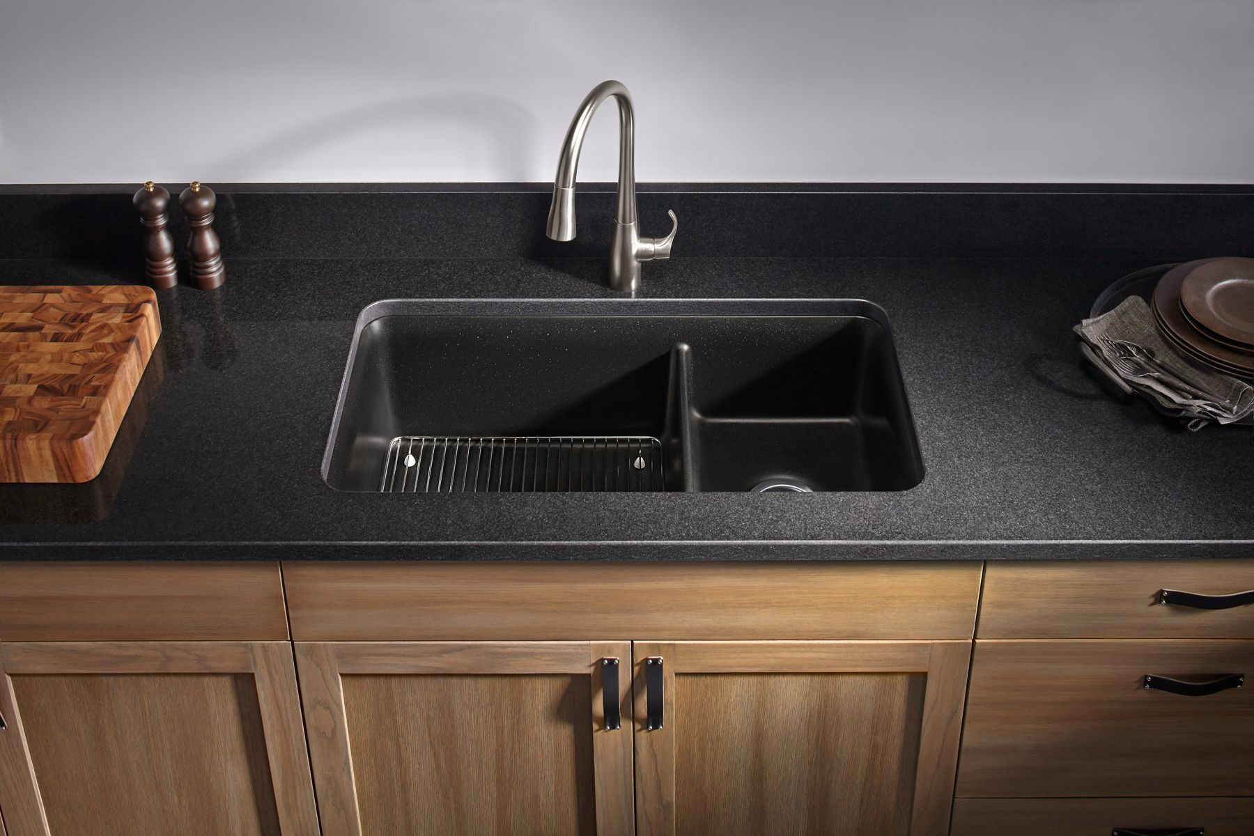 How To Remove Hard Water Stains From Granite Countertops How Do You Clean A Granite Composite Sink How To Clean