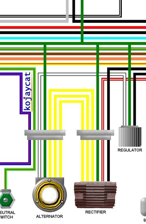 Wiring 750 Regulater Honda Diagram Cb Rectefior Wiring Diagram