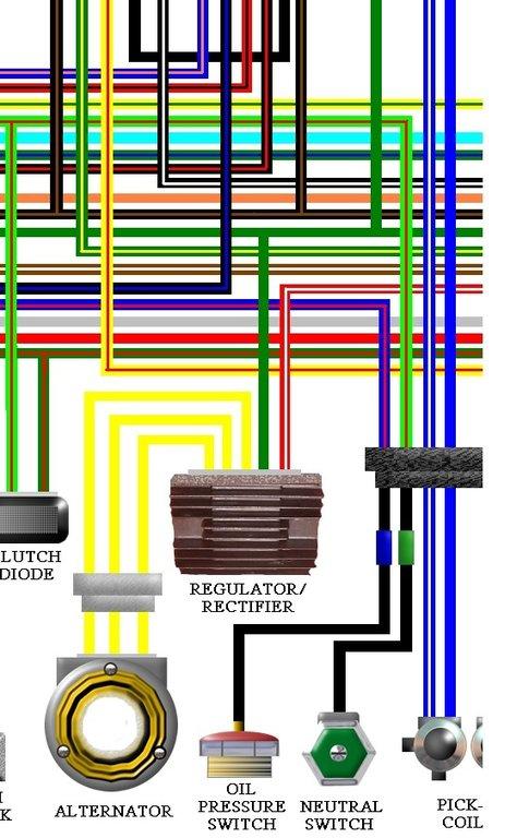 1998 Honda Shadow 600 Wiring Diagram Index listing of wiring diagrams