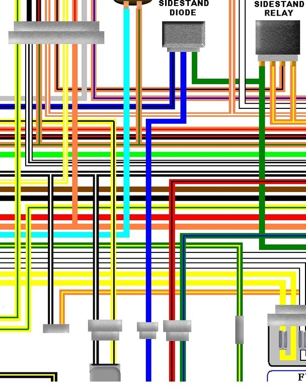 2006 gsxr wiring diagram auto electrical wiring diagram rh adxn me suzuki gsf 1200 wiring diagram Bandit 1200 Custom