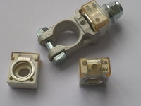 Marine Grade Ceramic Cube Fuses And Positive Battery Terminal