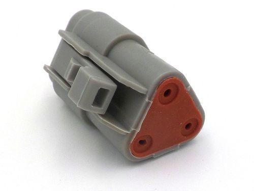 Deutsch DT 3 Way Wiring Harness Sensor Connector DT06-3S, DT04-3P
