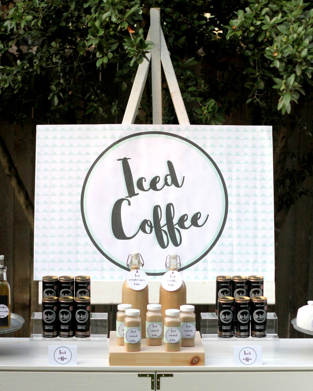 Coffee Bar Ideas For Party A Mountain Y Bear Party