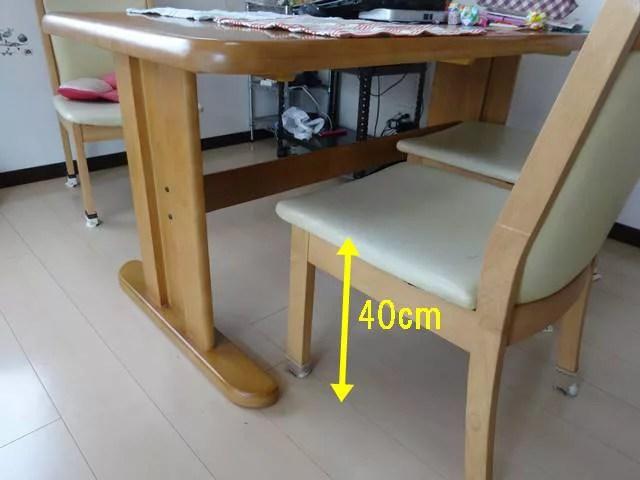 THATKA入院前に自宅で測るべきポイント食卓テーブル