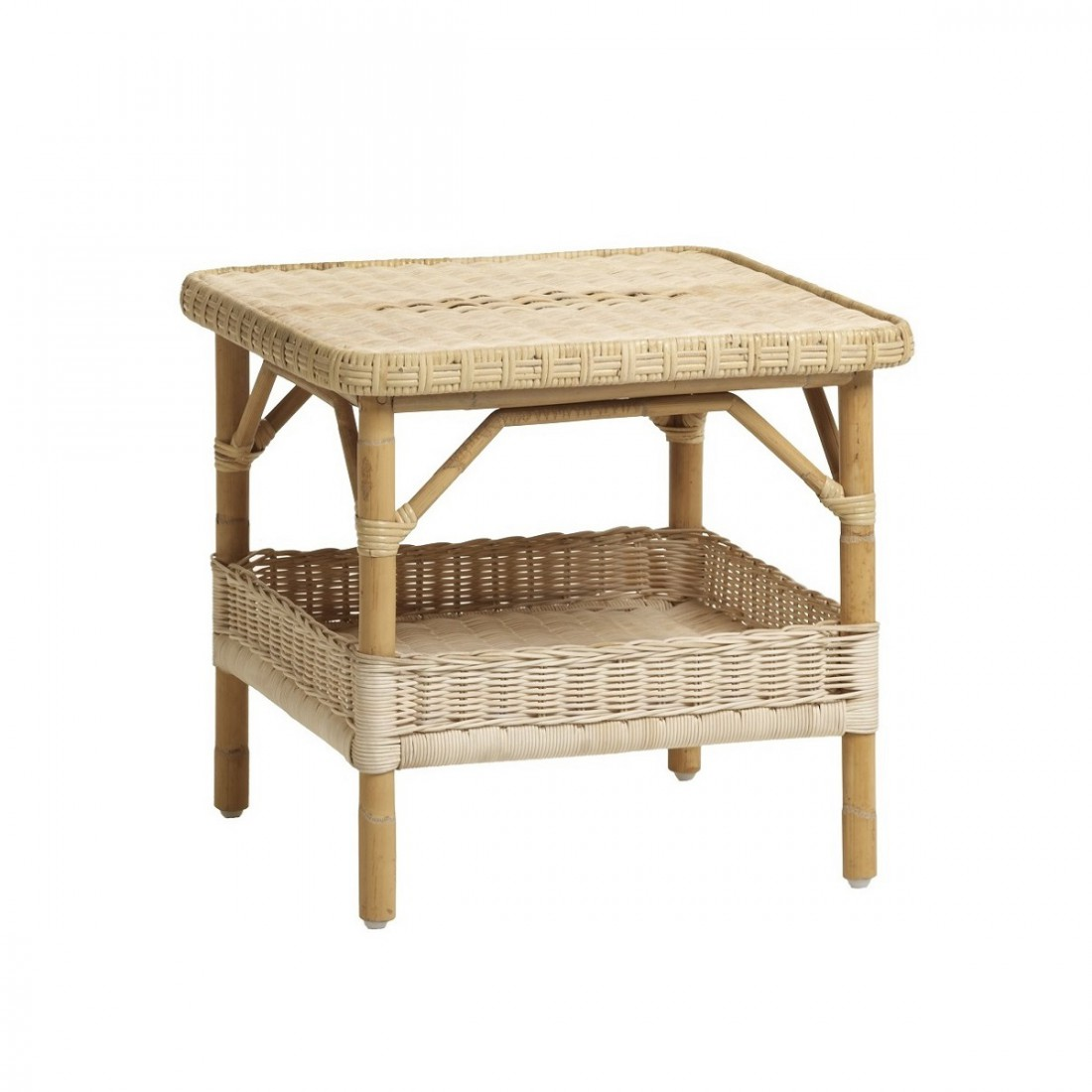 Table De Salon En Rotin Table Basse En Rotin Naturel Pm