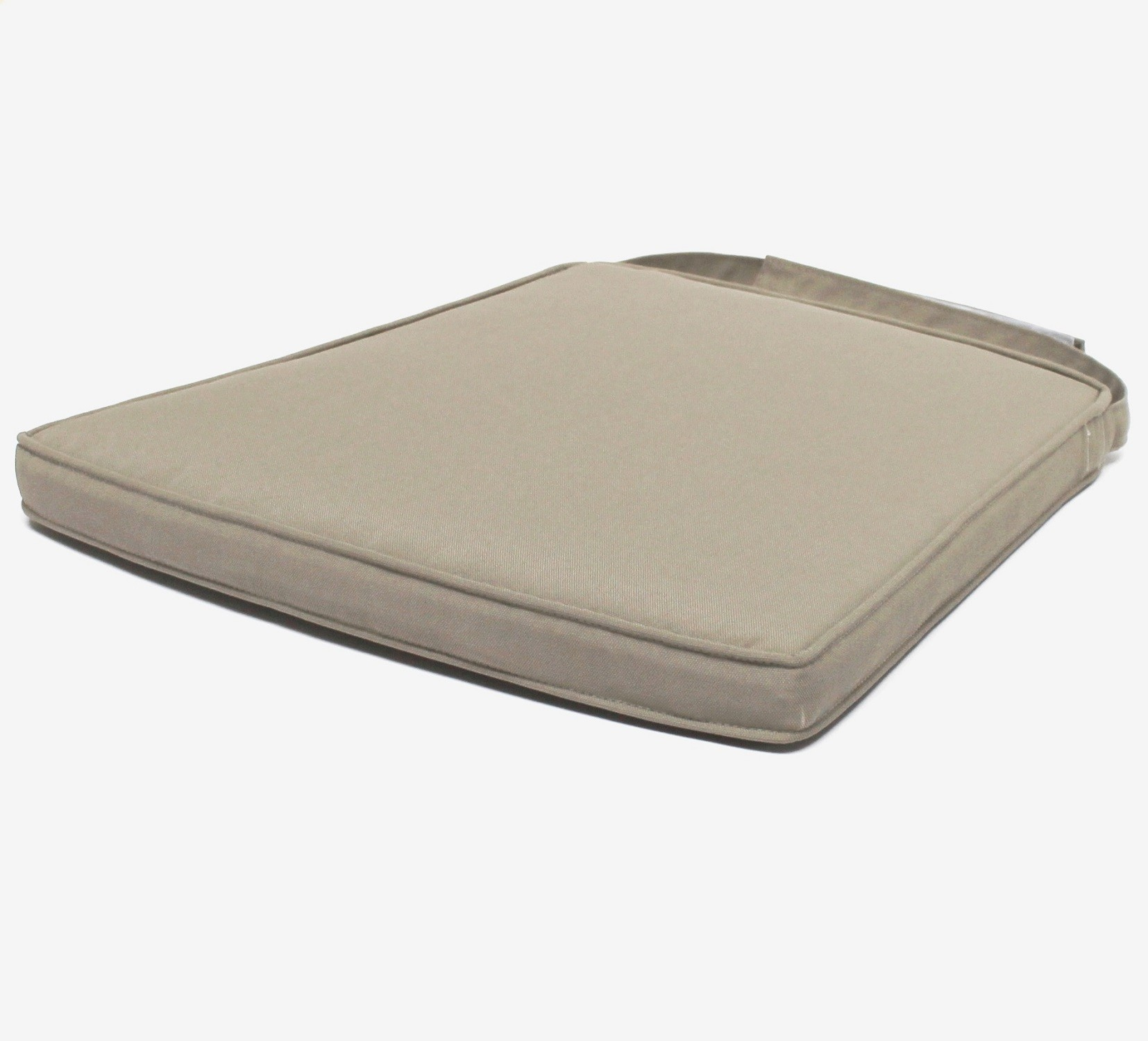 Coussin Carre Exterieur Coussin Taupe Pour Chaise Isabelle