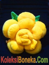jual boneka bantal bunga warna kuning