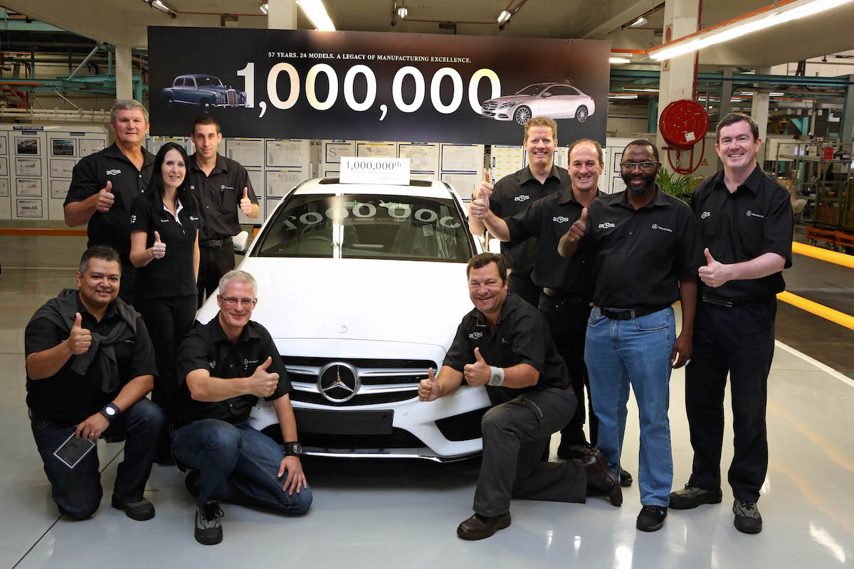 Car Manufacturers In South Africa Mercedes Benz South Africa S East London Plant Produces One