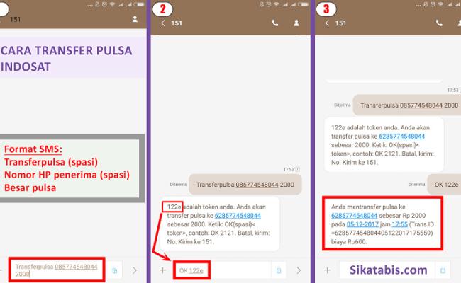 2 Cara Transfer Pulsa Indosat Im3 Mentari Matrix Sikatabis