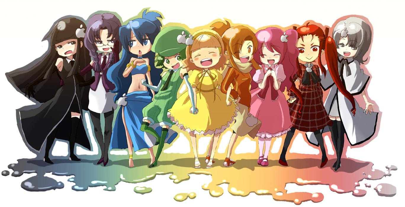 Cute Wallpapers With Bff Quote Anthropomorphism Chibi Group Mac Tagme Konachan Com
