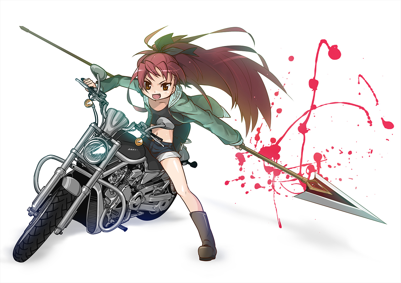 Tomboy Girl Wallpapers Imagenes Anime Y Motocicletas