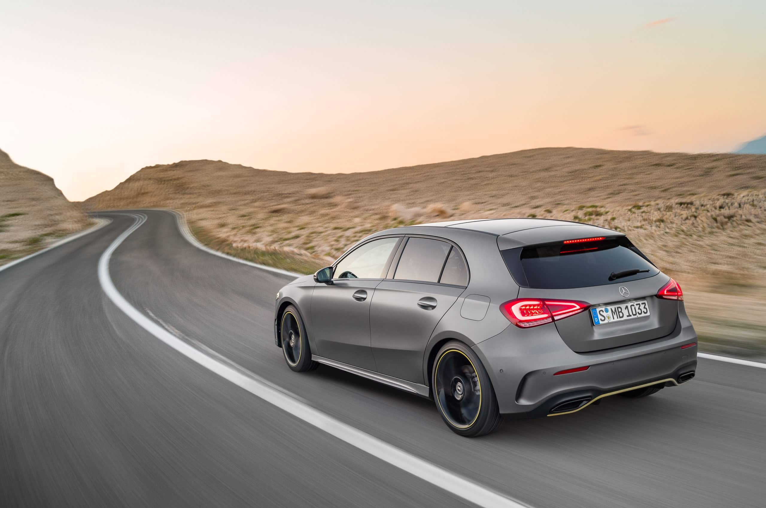 Mercedes A Klasse 2018 A Brand New Mercedes A Class Took Over The Roads Of