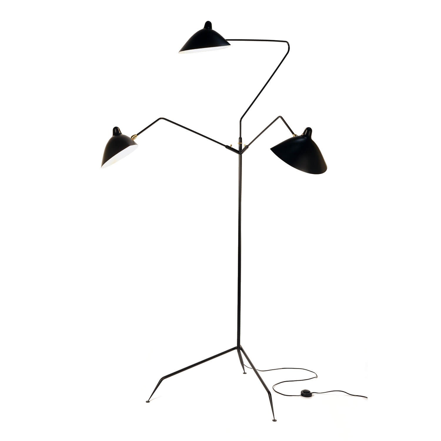 Arm Lamp 3 Arm Floor Lamp Kooku