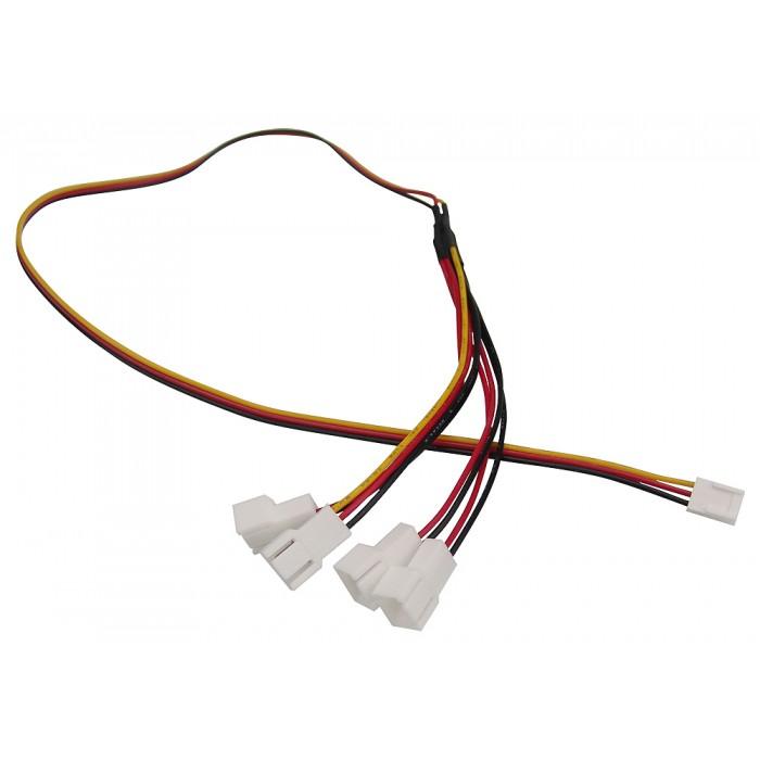 4-Fan Wiring Harness, 3-Pin