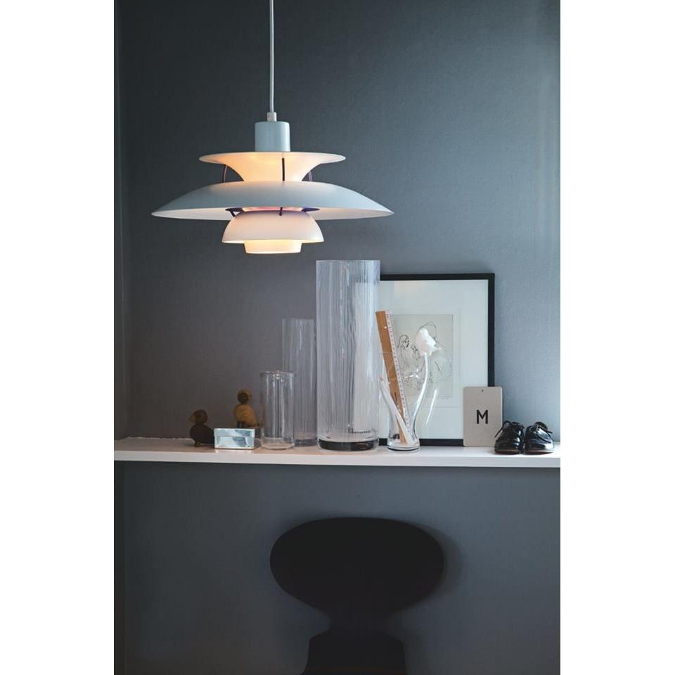 Ph 5 Louis Poulsen Ph 5 Hanglamp Klassiek Wit
