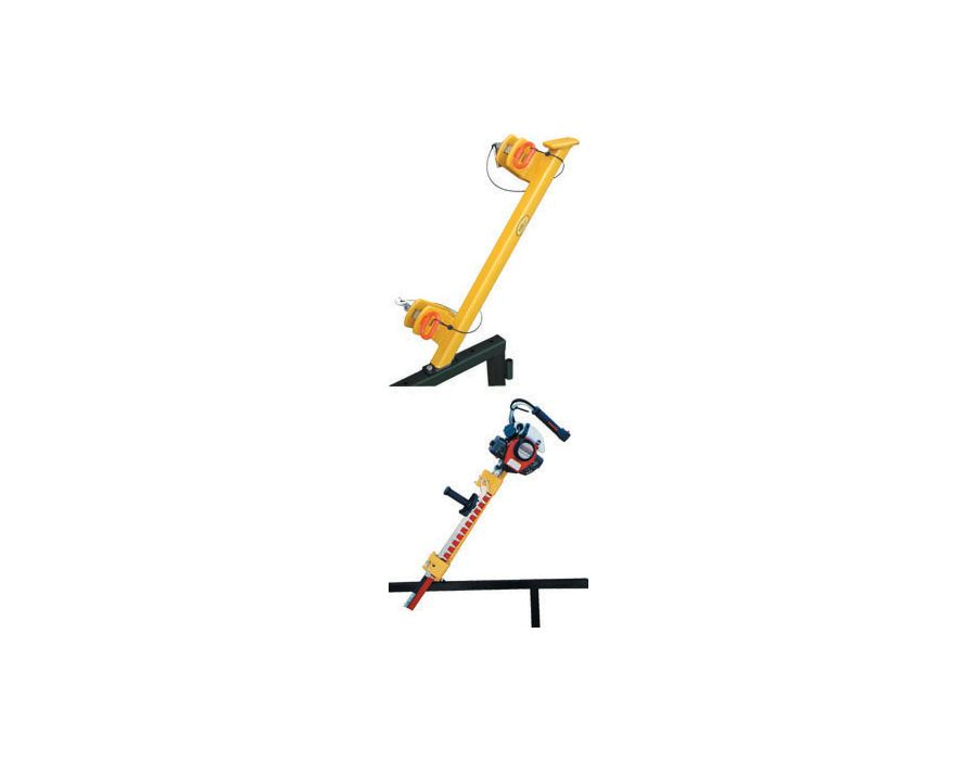 Green Touch Hedge Trimmer Rack Ha041 For Open And Enclosed