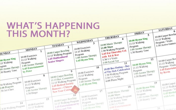 Activity Calendar \u2013 February 2019 - Kopernik Lodge