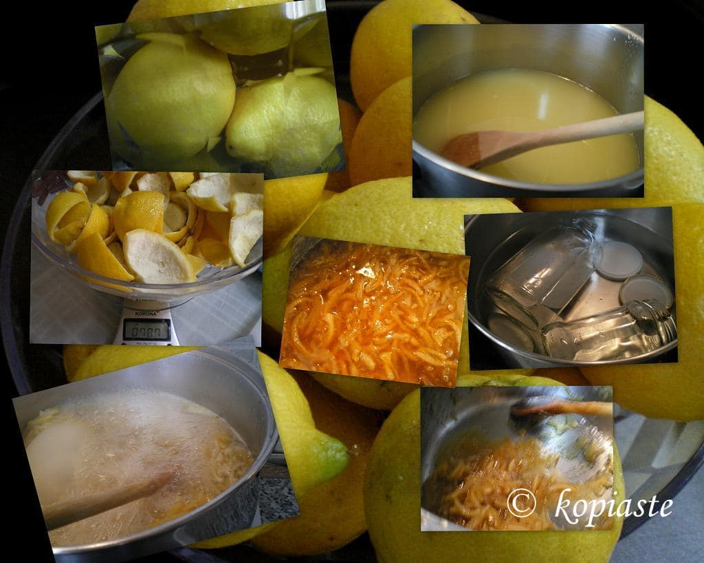 COLLAGE LEMON MARMELADE