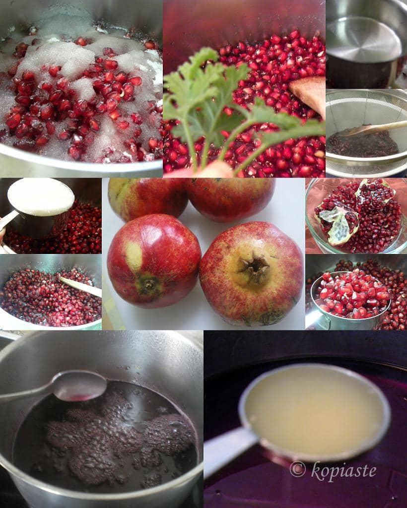 Collage Pomegranade syrup