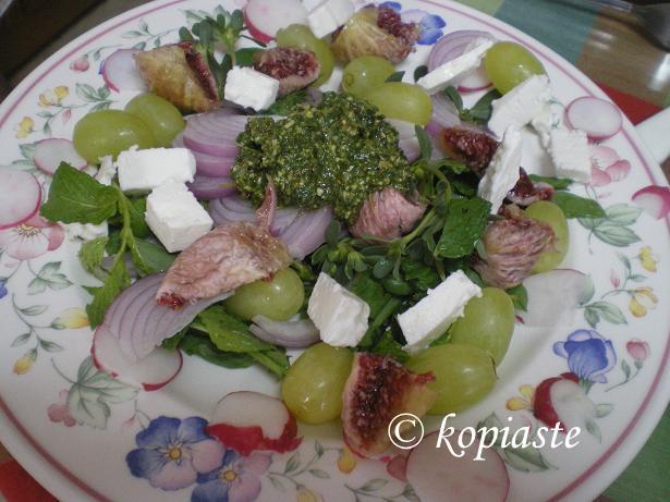 Rocket Salad with Summer Fruit