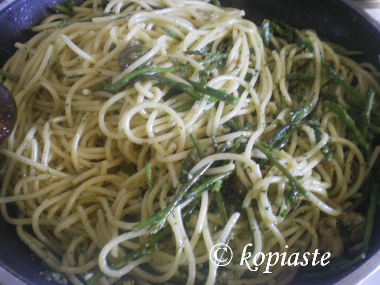 Spaghetti with Asparagus