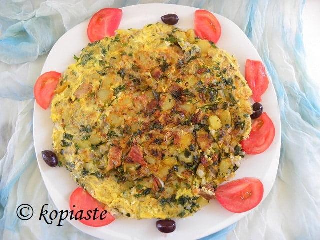 Greek Style Omeleta