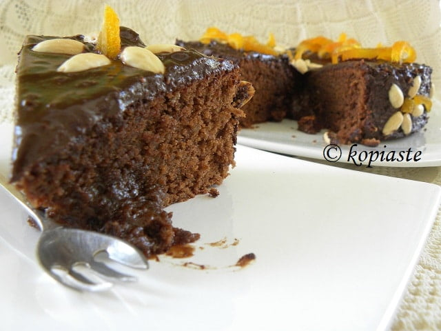 Almond Chocolate Cake 2