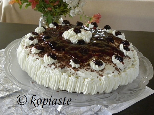 Black Forest with Cream Cheese