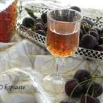 Easy Cherry Pit Liqueur with Cherry Syrup