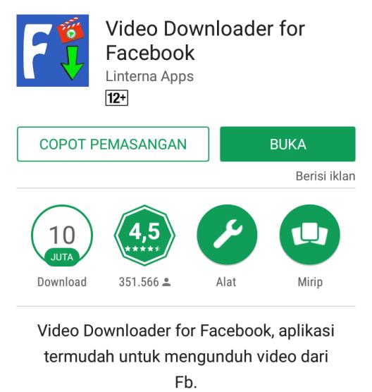 aplikasi download video fb