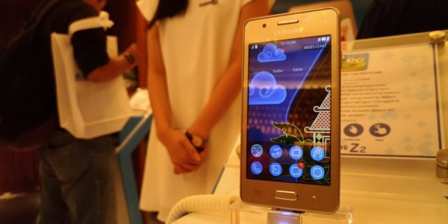 OS Tizen di Indonesia Saingi Android
