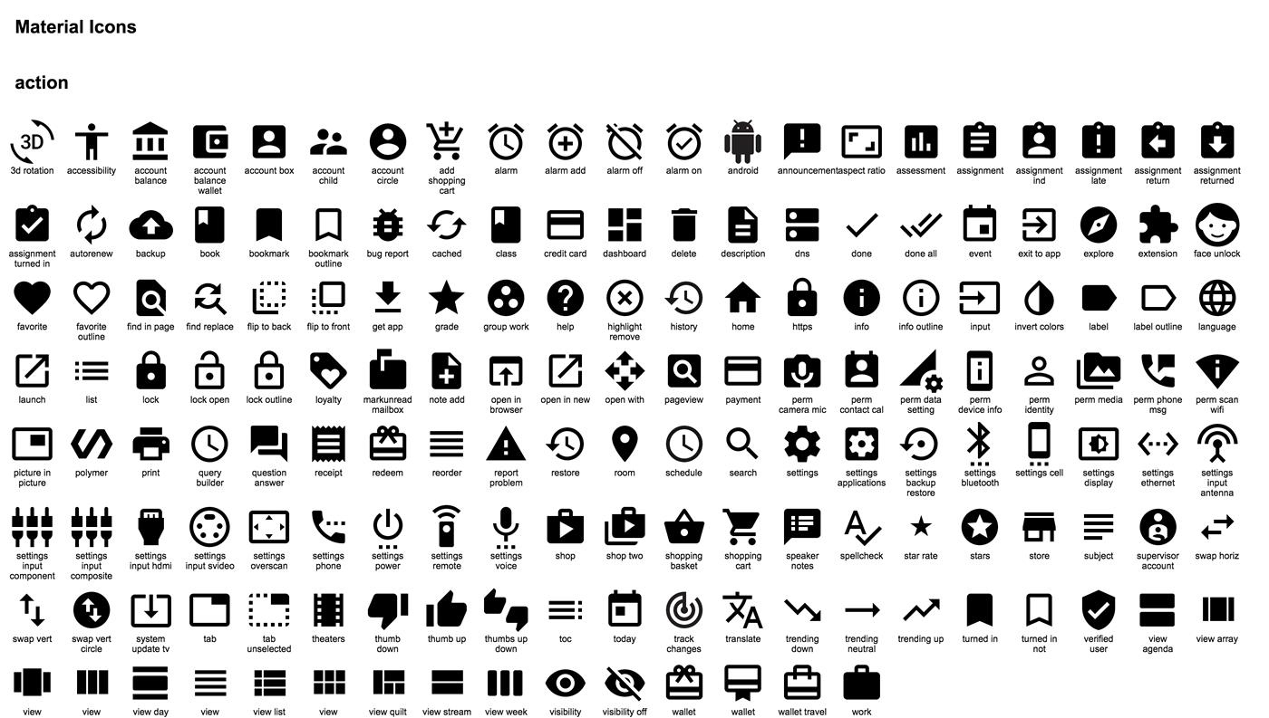 symboles pour cv telecharger