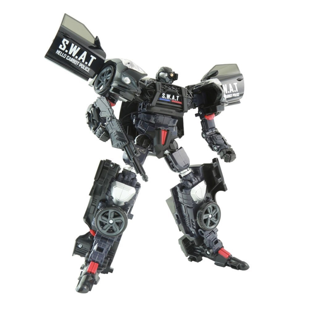 Bbq Hoes Action Hello Carbot Veloster Sky S W A T Transforming Toy Robot Action Figure 1 20