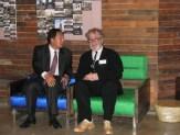 David Kilburn with Choi Kyu-hak