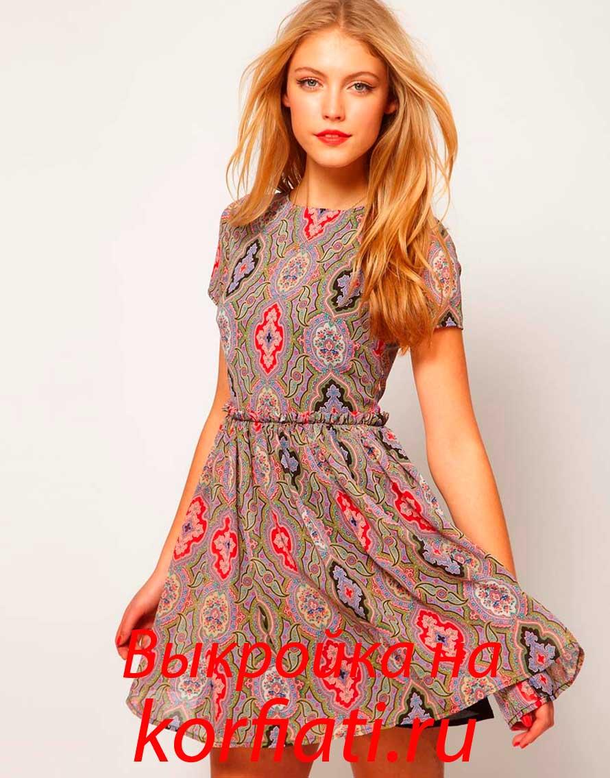 Сшить красивое летнее платье самой