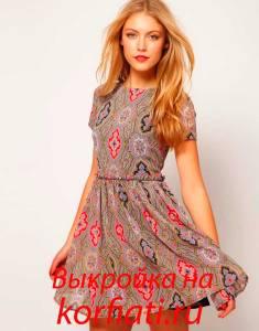 Как сшить платье просто
