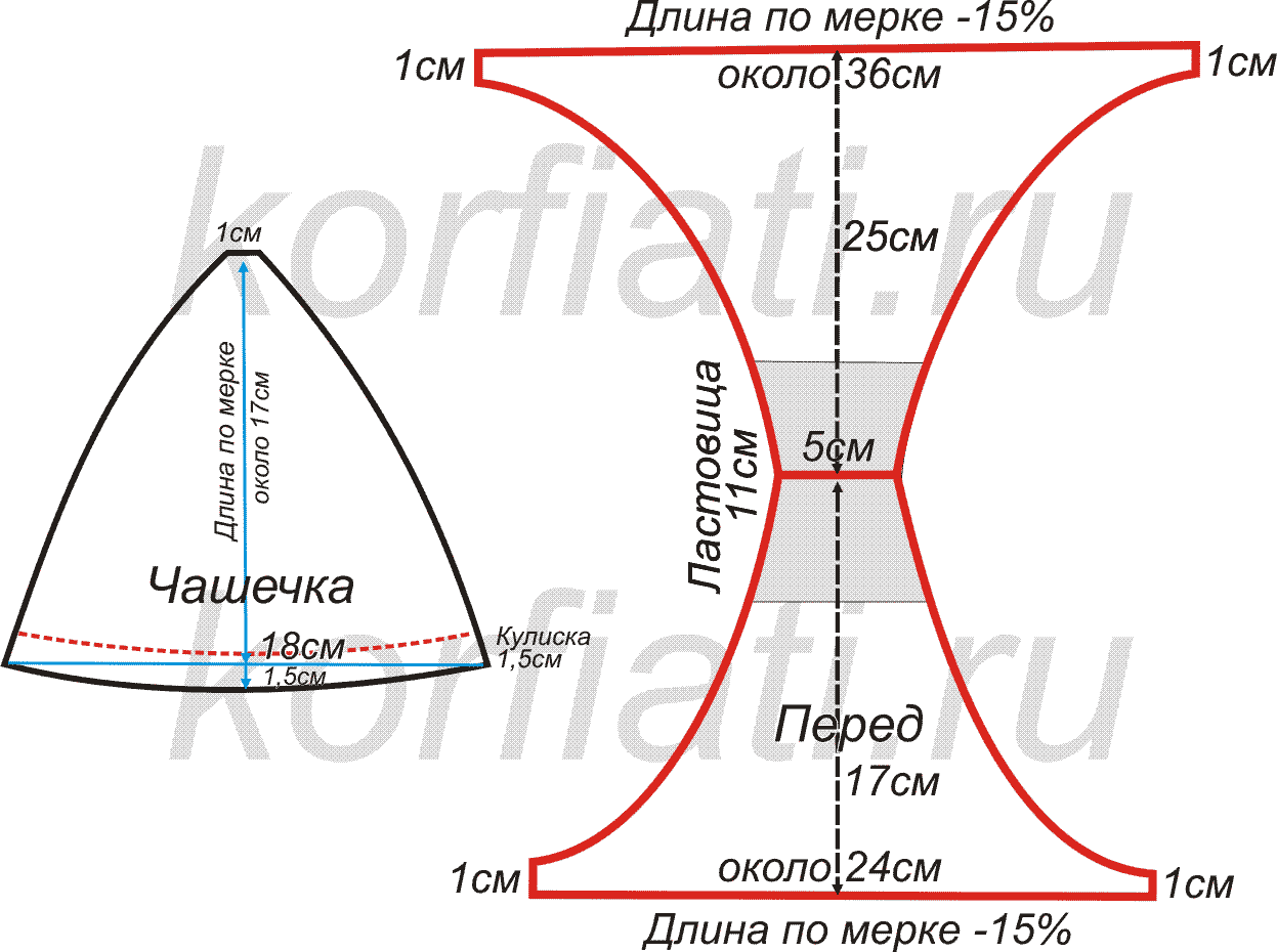 Чехол для табуретки крючком схемы