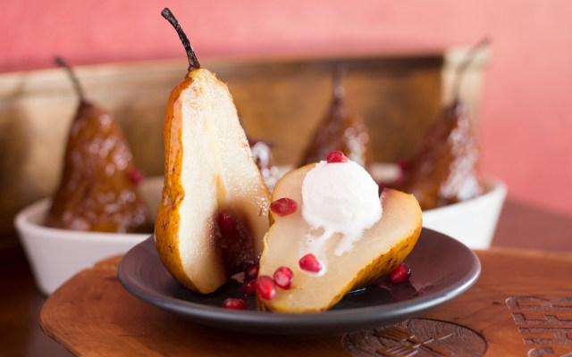 Glazed Roasted Pears