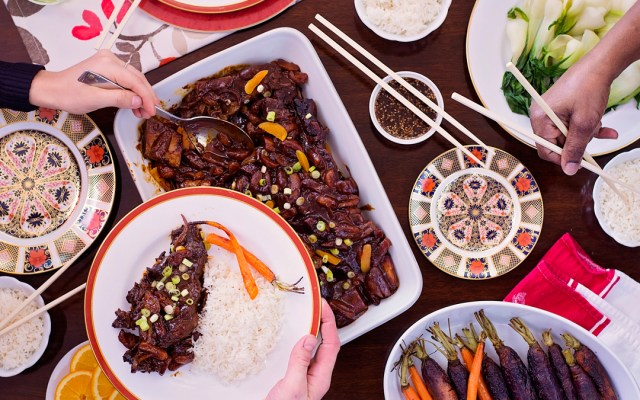 Short Ribs in Orange-Hoisin Sauce
