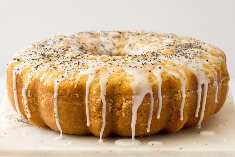 Poppyseed Cake with Orange Glaze