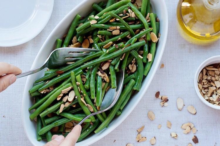 String Beans Almondine