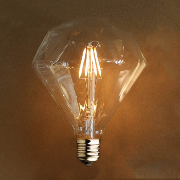 Led Nachtlampje Retro Led-lamp E27 4w - Warm Wit | Kosilamp