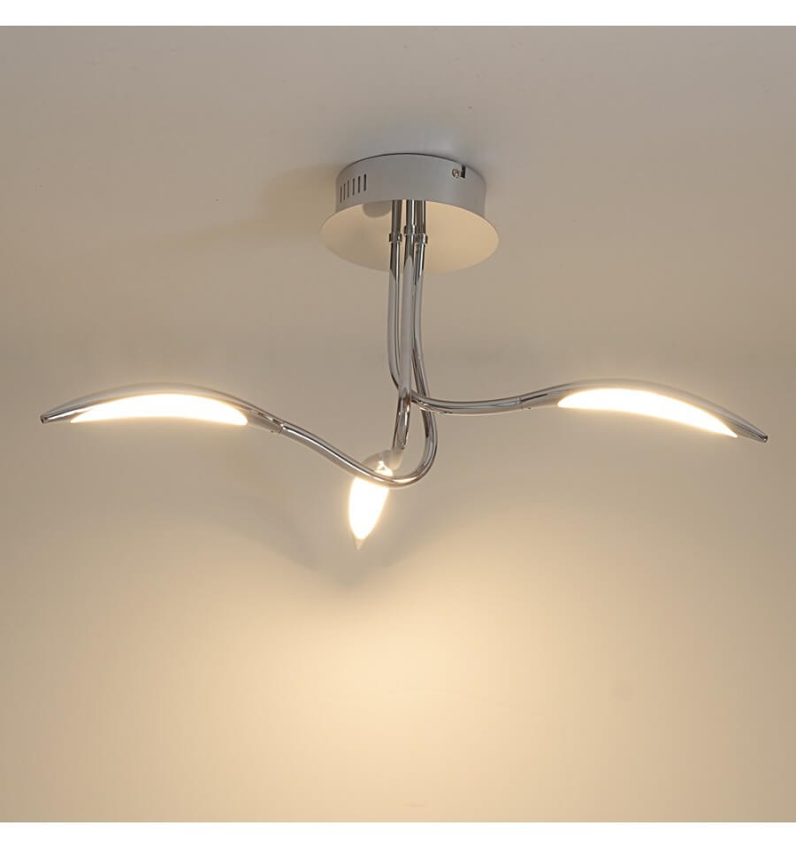 Led Deckenleuchte 6 Flammig Futuristic Ceiling Light | 3 Arms Arco - Kosilight Uk