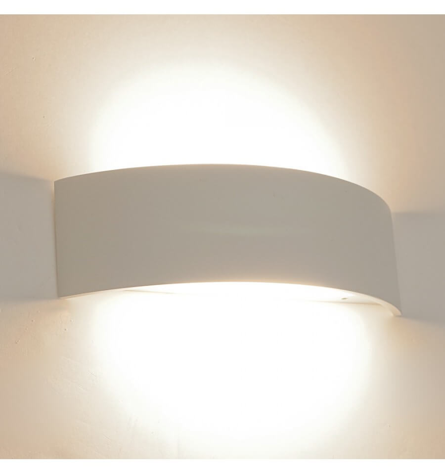 Décoration Murale Style Scandinave Applique Led Design Demi Lune - Arca