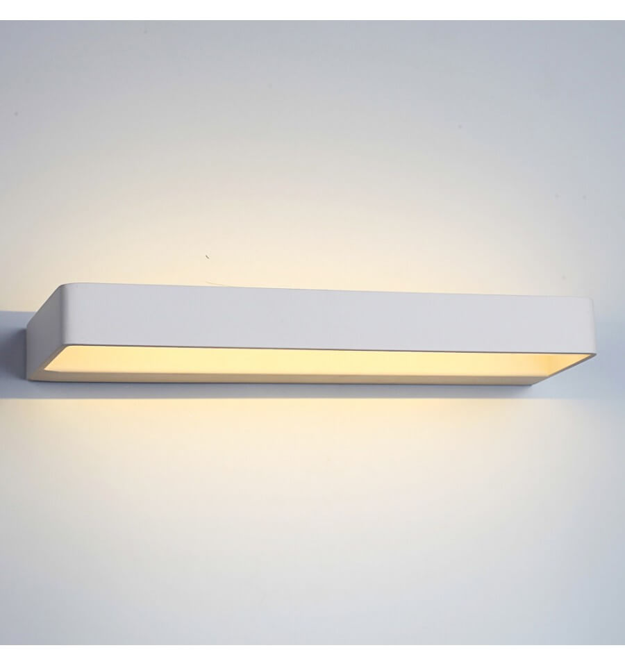 Eclairage Indirect Mural Luminaire Contemporain à Led Verso 38 Cm